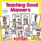 Good Manners and Social Skills Posters