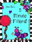 8 Great 5 minute fillers!
