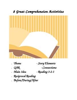 8 Great Comprehension Activities