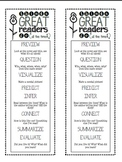 8 Great Things, Reader's Bookmark