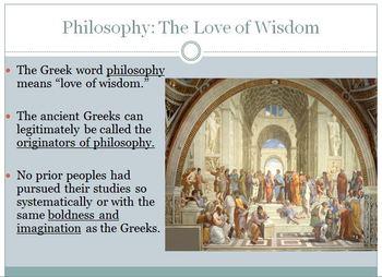 8. Greek Humanism, 800-100 BCE