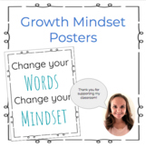 8 Growth Mindset Posters