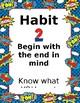8 Habits Superhero Theme