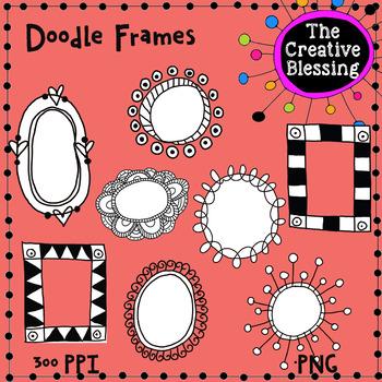Doodle Frames Clip Art