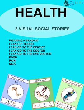 8 Health Social Stories For Health: Autism: Special Education: