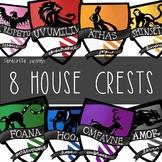 8 House Crests by Taracotta Sunrise