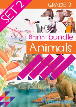 8-IN-1 BUNDLE- Animals (Set 2) – Grade 2