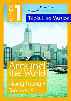8-IN-1 BUNDLE - Around the World (Set 1) Grade 1 ('Triple-Track Writing Lines')