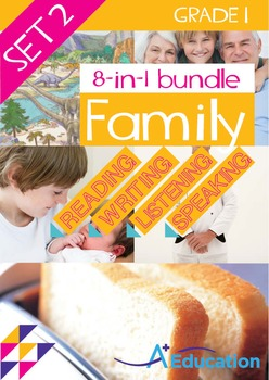 8-IN-1 BUNDLE- Family (Set 1) – Grade 1