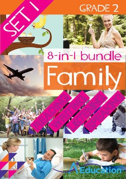 8-IN-1 BUNDLE- Family (Set 1) – Grade 2