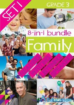 8-IN-1 BUNDLE- Family (Set 1) – Grade 3