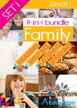 8-IN-1 BUNDLE- Family (Set 2) – Grade 1