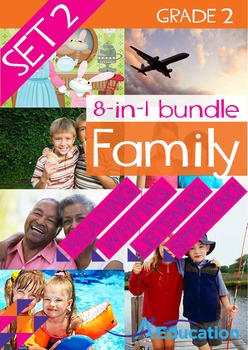 8-IN-1 BUNDLE- Family (Set 2) – Grade 2