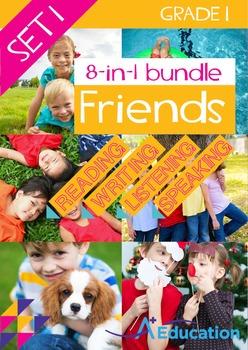 8-IN-1 BUNDLE - Friends (Set 1) - Grade 1