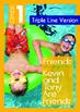 8-IN-1 BUNDLE - Friends (Set 1) Grade 1 ('Triple-Track Wri