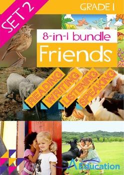 8-IN-1 BUNDLE - Friends (Set 2) - Grade 1