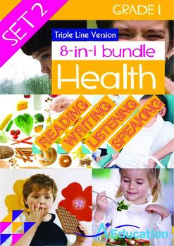 8-IN-1 BUNDLE - Health (Set 2) Grade 1 ('Triple-Track Writ
