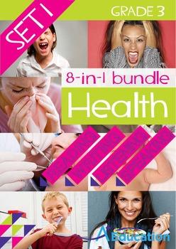 8-IN-1 BUNDLE - Health (Set 1) - Grade 3