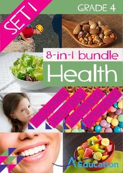 8-IN-1 BUNDLE - Health (Set 1) - Grade 4