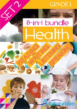 8-IN-1 BUNDLE - Health (Set 2) - Grade 1