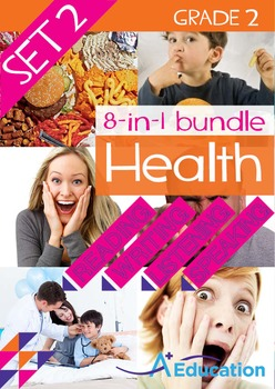 8-IN-1 BUNDLE - Health (Set 2) - Grade 2