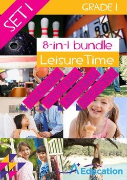 8-IN-1 BUNDLE - Leisure Time (Set 1) - Grade 1