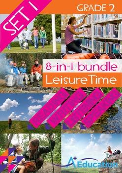 8-IN-1 BUNDLE - Leisure Time (Set 1) - Grade 2