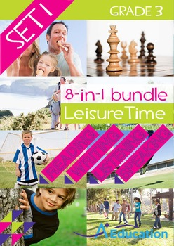 8-IN-1 BUNDLE - Leisure Time (Set 1) - Grade 3