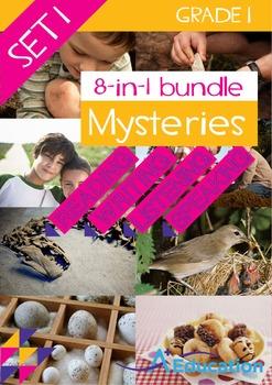 8-IN-1 BUNDLE- Mysteries (Set 1) – Grade 1