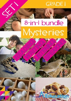 8-IN-1 BUNDLE- Mysteries (Set 1) – Grade 1
