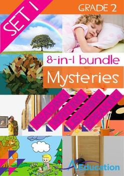 8-IN-1 BUNDLE- Mysteries (Set 1) – Grade 2