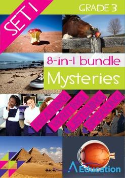 8-IN-1 BUNDLE- Mysteries (Set 1) – Grade 3