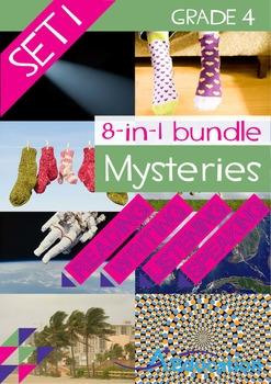8-IN-1 BUNDLE- Mysteries (Set 1) – Grade 4