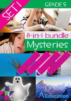 8-IN-1 BUNDLE- Mysteries (Set 1) – Grade 5