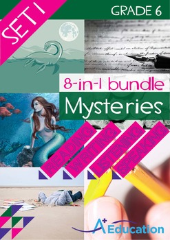 8-IN-1 BUNDLE- Mysteries (Set 1) – Grade 6