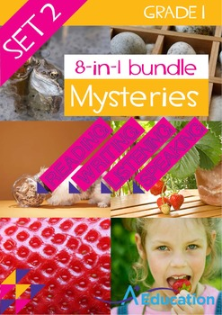 8-IN-1 BUNDLE- Mysteries (Set 2) – Grade 1