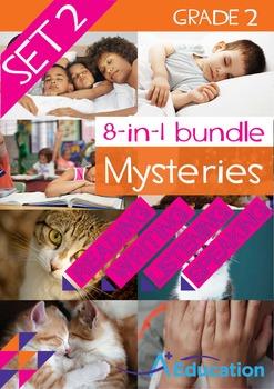 8-IN-1 BUNDLE- Mysteries (Set 2) – Grade 2