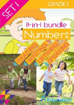 8-IN-1 BUNDLE- Numbers (Set 1) – Grade 1