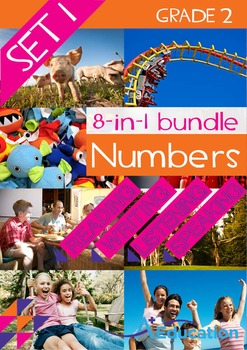8-IN-1 BUNDLE- Numbers (Set 1) – Grade 2