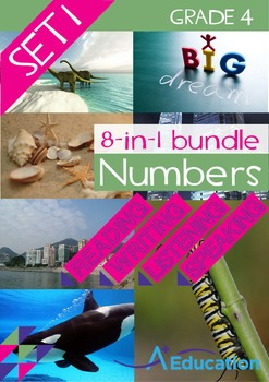 8-IN-1 BUNDLE- Numbers (Set 1) – Grade 4
