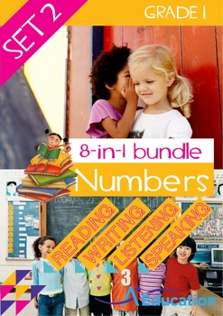 8-IN-1 BUNDLE- Numbers (Set 2) – Grade 1