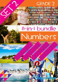 8-IN-1 BUNDLE- Numbers (Set 2) – Grade 2
