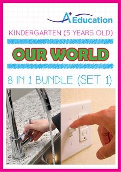 8-IN-1 BUNDLE - Our World (Set 1) - Kindergarten, K3 (5 years old)