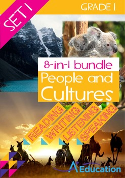 8-IN-1 BUNDLE - People and Cultures (Set 1) - Grade 1