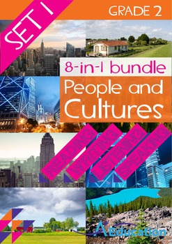 8-IN-1 BUNDLE - People and Cultures (Set 1) - Grade 2