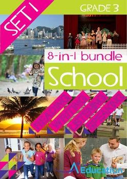8-IN-1 BUNDLE- School (Set 1) – Grade 3