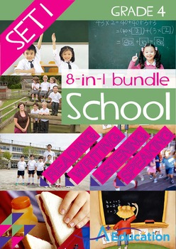 8-IN-1 BUNDLE- School (Set 1) – Grade 4