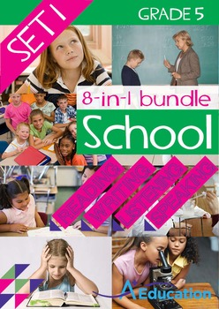 8-IN-1 BUNDLE- School (Set 1) – Grade 5