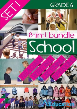 8-IN-1 BUNDLE- School (Set 1) – Grade 6
