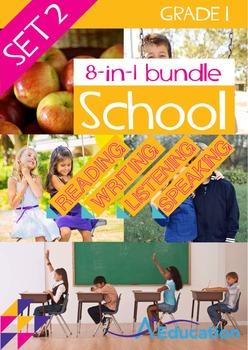 8-IN-1 BUNDLE- School (Set 2) - Grade 1